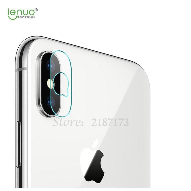 Lenuo 2 шт. для Apple <font><b>IPhone</b></font> х объектив камеры закаленное стекло 0.2 мм прозрачный сзади Стекло протектор для <font><b>iPhone</b></font> <font><b>X</b></font> 10 защитный стекло