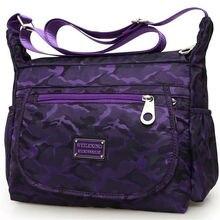 Новая женская сумка, водонепроницаемая, Оксфорд, сумка-мессенджер через плечо для леди, дорожные сумки на плечо, большая вместительность, высокое качество
