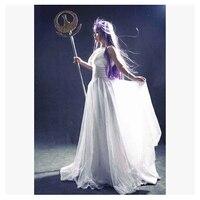 Лидер продаж! Saint Seiya Афина Lost Canvas миф Аид Athena Косплэй костюм лолита платье длинное платье Новый