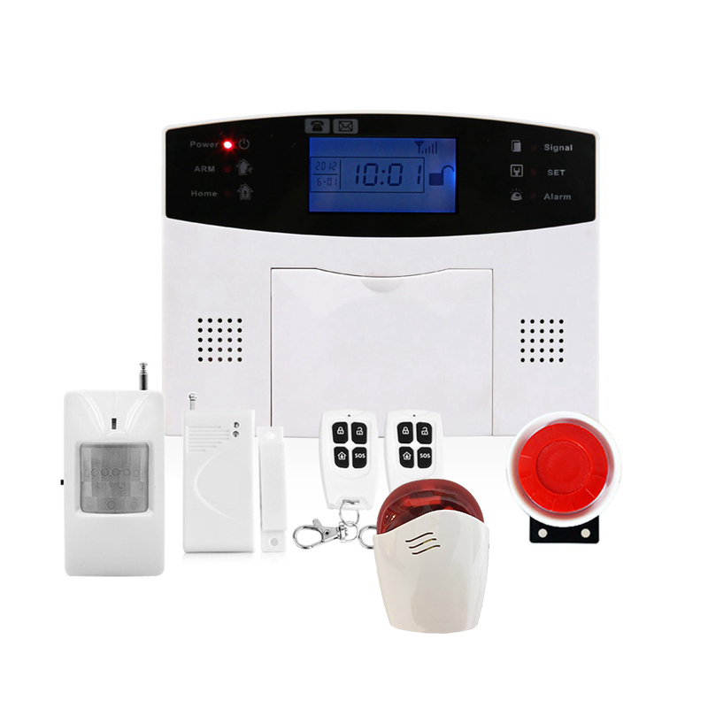 GSM Security Alarm System Smart Home GSM Burglar Alarm System With PIR Sensor Door Sensor Wireless Siren new 433mhz wireless door window sensor for gsm pstn home alarm system home security voice burglar smart alarm system