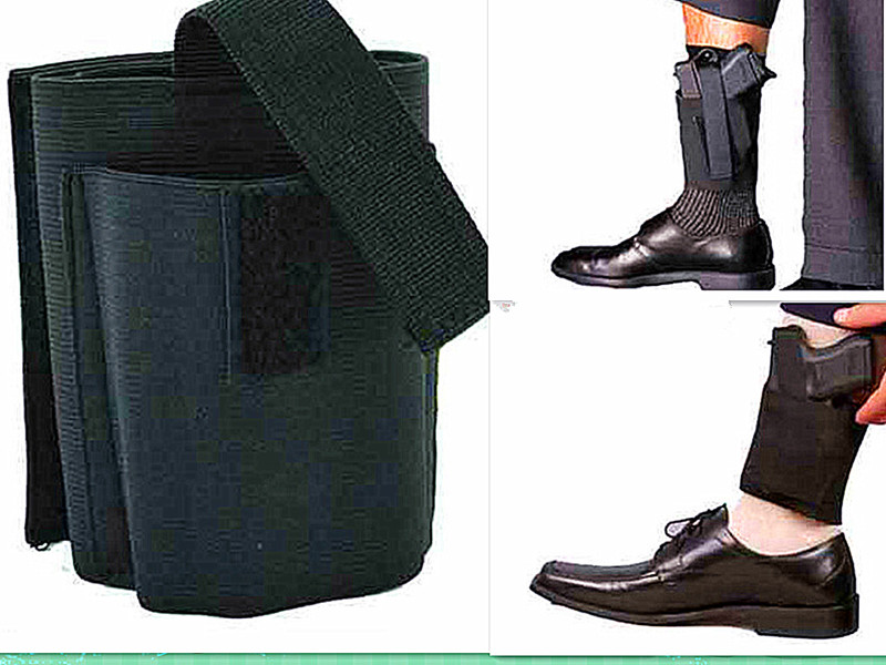 Ankle Leg Gun Holster Concealed Carry Right//Left For LCP LC9 PF9 Small Black