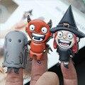 2016 Nueva Marca Finger Puppets Juguetes Interactivos Entre Padres E Hijos Juguetes de PVC de Halloween Navidad Títeres