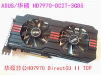 ASUS Used original graphics card HD7970 3G D5 discrete graphics