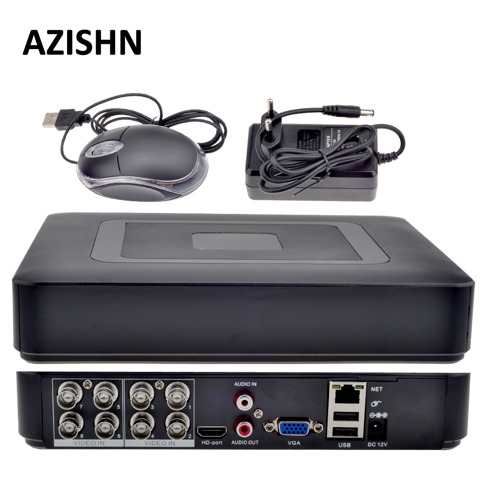 8CH AHD DVR H.264 1080N/4CH аналоговый 1080 P/16CH IP 1080 P Mini 5 в 1 TVI CVI AHD 960 H IP HDMI P2P Гибридный видеонаблюдения DVR