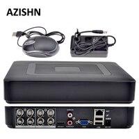 8CH AHD DVR H.264 1080N/4CH Analog 1080P/16CH IP 1080P Mini 5 in 1 TVI CVI AHD 960H IP HDMI P2P Hybrid CCTV DVR