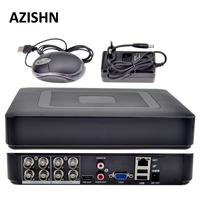 HOBOVISIN 8CH AHD DVR H 264 1080N 4CH Analog 1080P 16CH IP 1080P Mini 5 In
