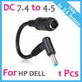 Ac Power Cord Charger Laptop Adapter Tip Connector Converter for Hp Pavilion Envy Elitebook Dell Latitude XPS Precision