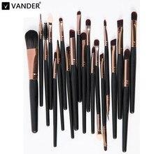 Vander Professional 20pcs Makeup Brushes Set Powder Foundation Lipstick Brush Eyeshadow Eyeliner Cosmetics Kits Pincel maquiagem