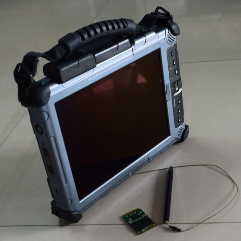 Авто Диагностический ноутбук xplore ix104 c5 tablet (i7 4G) компьютер с ssd программного обеспечения для mb star c4/c5 готов к использованию