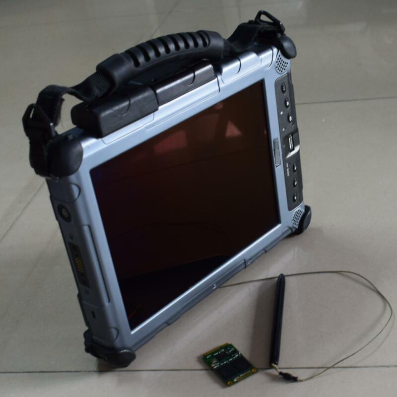 Auto diagnostica del computer portatile xplore ix104 c5 tablet (i7 4g) software del computer con ssd per la stella di mb c4/c5 pronto per l'uso