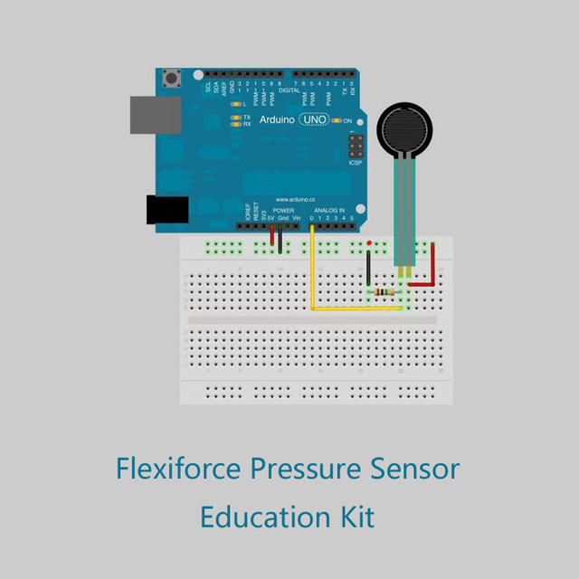 Flexiforce Thin Film Pressure Sensor Classic development suite