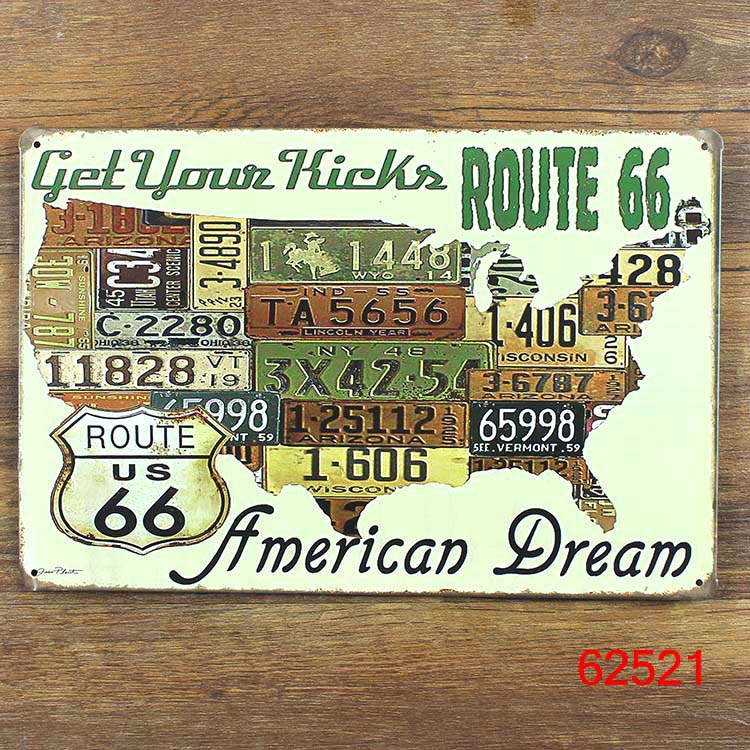 Online Buy Wholesale American License Plate From China American - Us liscense plate map