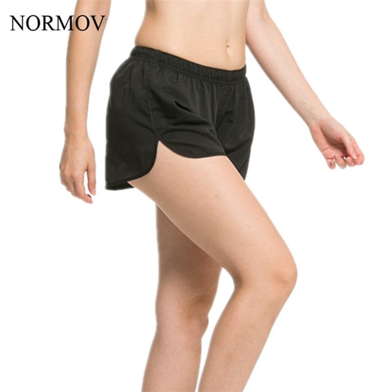 NORMOV S-XL 5 Colors Women   Shorts   Activewear Workout   Short   Feminino Breathable Comfortable   Shorts   Women