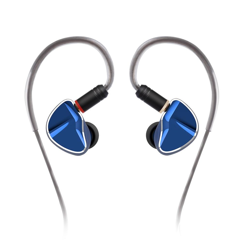 AK Yinyoo D2B4 2DD 4BA 10mm Graphene Diaphragm Dynamic Driver Hybrid In Ear HIFI DJ Monitor