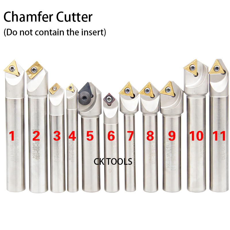 45 Degrees/60 Degrees/90 Degrees/120 Degrees SSP SSK SSY SSH TP45 TCMT 12mm 16mm 20mm CNC Chamfering Turning Tools|Milling Cutter| |  - title=