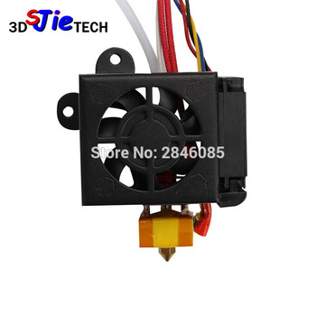 Creality 3D Full Assembled Extruder Kits With 2PCS Fans Fan Cover Air Connections Nozzle Kits for CR-10 Series 3D Printer Parts