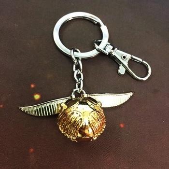 Брелок Золотой снитч Гарри Поттер в подарочной коробке 1