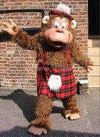 Талисман Горилла MASCOT костюм нарядное платье Пользовательские праздничный карнавальный костюм Стиль Карнавал