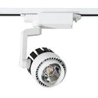 4PCS LED Track Light 20W 30W COB Ceiling Rail Lights For Pendant Kitchen Clothes Shop Shoes