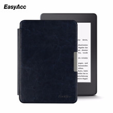 Easyacc Magnetic Leather Case for Amazon Kindle Paperwhite 2015 6 inch E-Book Stand Cover Smart Auto Sleep/Wake недорого