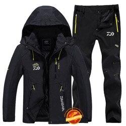 Daiwa ropa de pesca deportiva ropa de pesca al aire libre pantalones de secado rápido traje de pesca para hombre chaqueta de pesca de protección solar transpirable