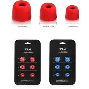 Image 2 - טורנירים 3 זוגות (6pcs) t400 באוזן זיכרון קצף אוזניות אוזן טיפים אוזניות אוזניות אוזניות רפידות בידוד רעש עבור טורנירים VX M10 CA16