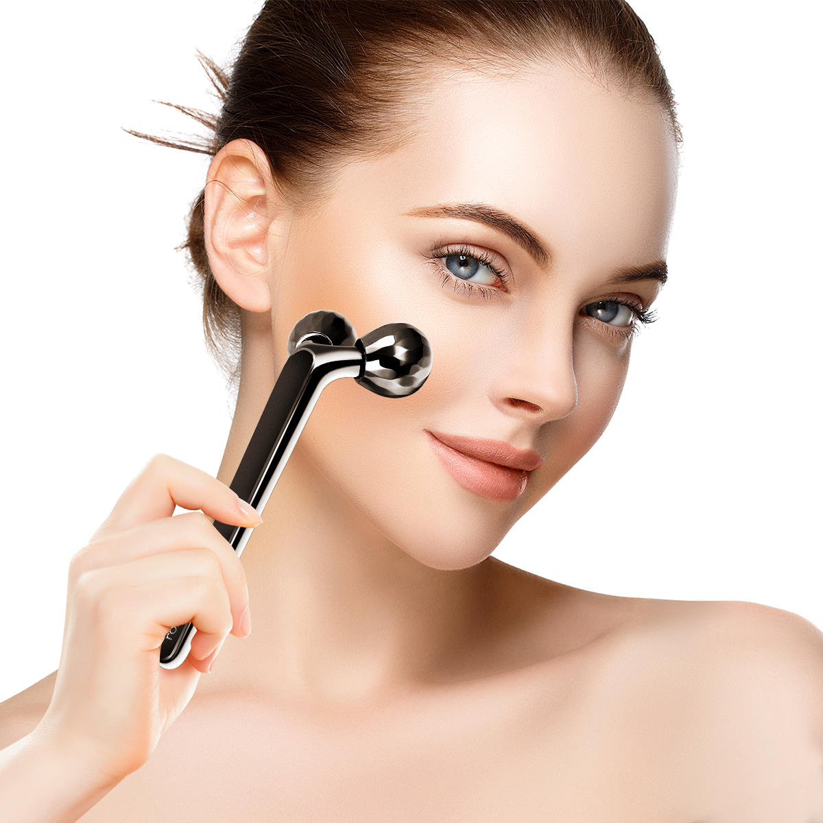 ROSENICE 3D Y-Shape Face Massage Roller Face Massager Firming Tools Beauty Tool For V Face Lift Kneading Body Slimming