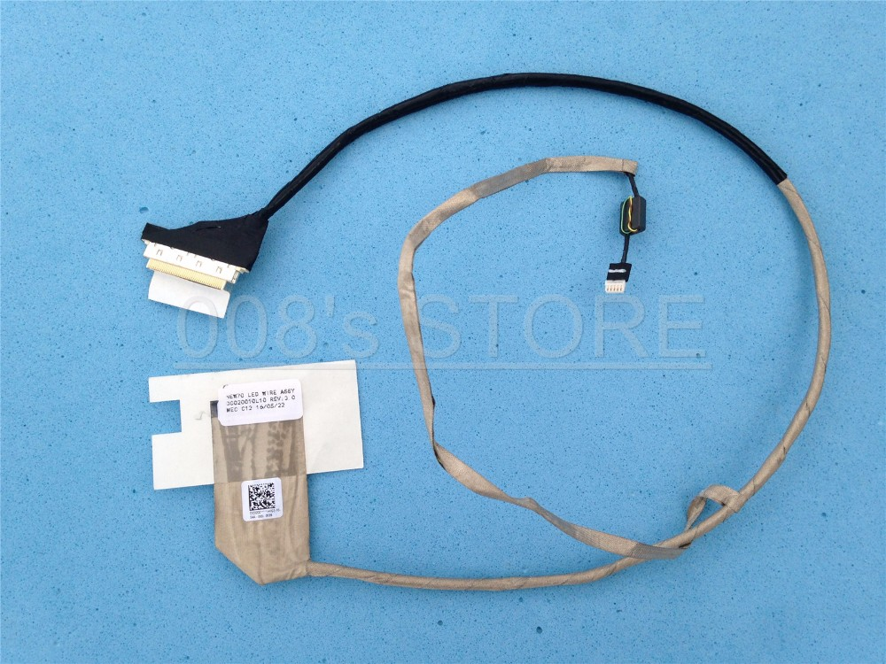 New LCD LED Cable For PACKARD BELL Easynote NEW70 TK87 TK13 tk11bz-021fr tk81 pew96 TM80 TM86 P5WS6 tm98 tm94 TM82 TM99 Flex new 9 cell 7800mah laptop battery for packard bell easynote nm85 nm86 nm87 lm85 lm86 lm87 nm88 as10d31 as10d3e as10d41