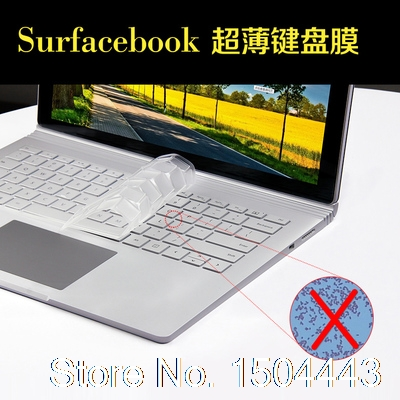 new washable laptop keyboard cover for microsoft surface book 13 5