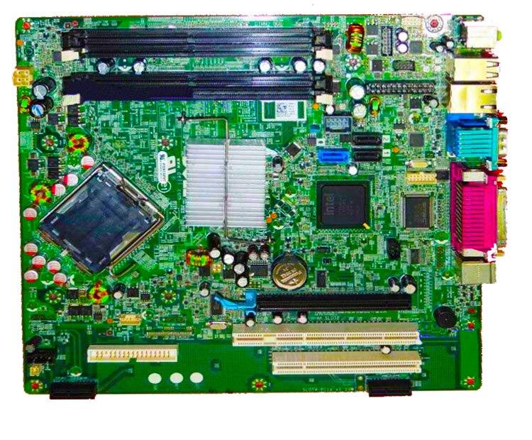 ФОТО High quality Optiplex 960 DT Desktop Motherboard F428D 0F428D J468K 0J468 BTX Q45 DDR2 100% tested perfect quality