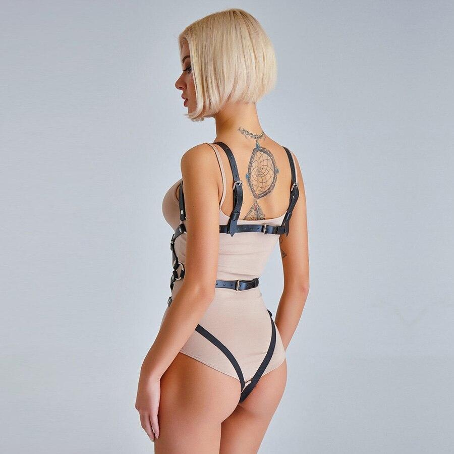 UYEE Fashion Women Harness Body Belts Garters Bondage Belt Punk Strap Band Garter Suspenders Straps Women Sexy Body Cage LT-025