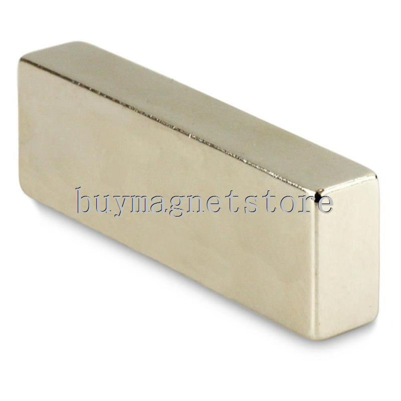 1pc N52 Super Strong Block Cuboid Neodymium Magnets 60 x 20 x 10 mm Rare Earth ndfeb Neodymium neodimio imanes