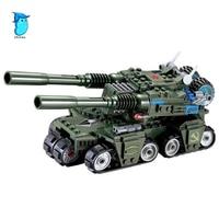StZhou 380pcs Apocalypse Tank Building Blocks Sets Model Educational Jigsaw 3D Construction educational toys for children