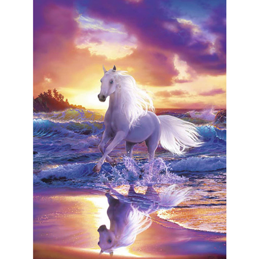 Full-Square-drill-5D-DIY-Diamond-painting-Running-horse-Embroidery-Mosaic-Cross-Stitch-Rhinestone-decor-HYY