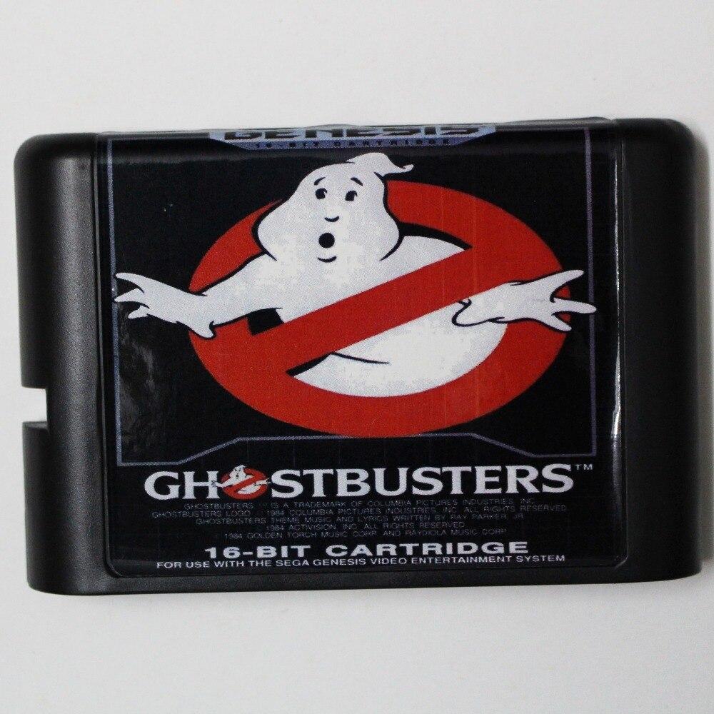 Ghost Busters 16 bit MD Game Card For Sega Mega Drive For Genesis