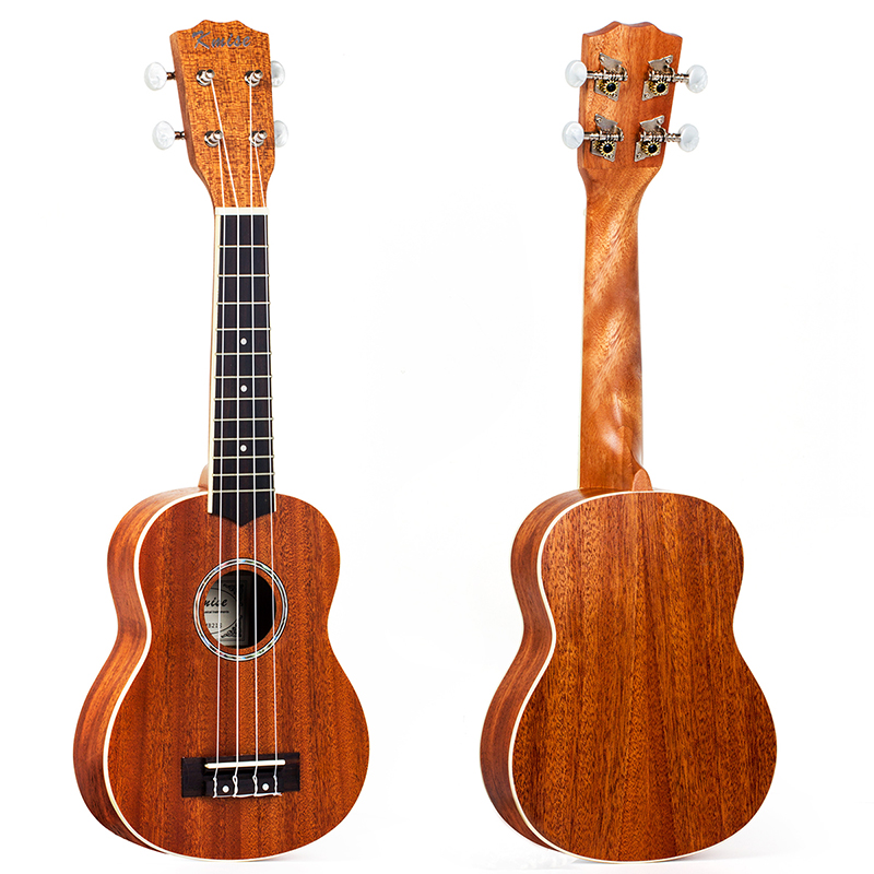 Kmise Mahogany Ukulele Soprano Professional Musical Instruments 21 Inch Ukelele Uke 4 String Hawaii Guitar electric ukulele acoustic solid top only 4strings guitar ox bone nut mahogany body red tortoise shell celluloid binding ukelele