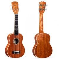 Kmise Mahogany Ukulele Soprano Professional Musical Instruments 21 Inch Ukelele Uke 4 String Hawaii Guitar