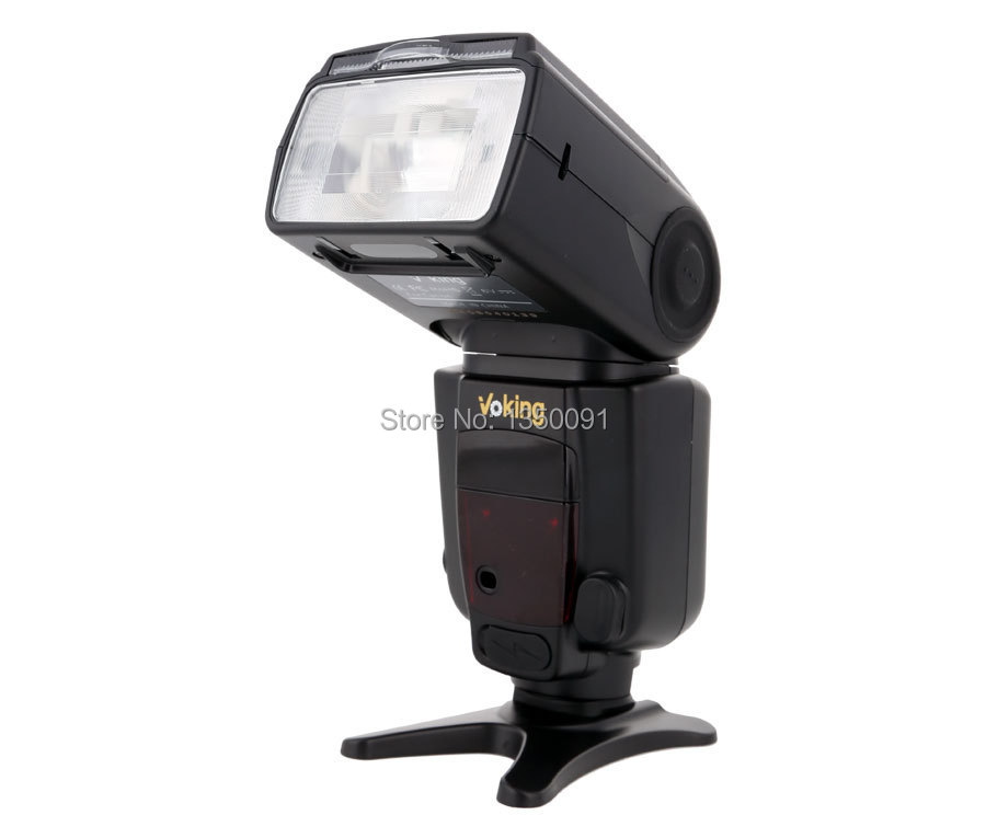 Voking Speedlite TTL flash  VK580 for Canon 70d 6d 5d2 70d 600d 60d 650d Digital SLR Cameras aputure 16 channel flash speedlite
