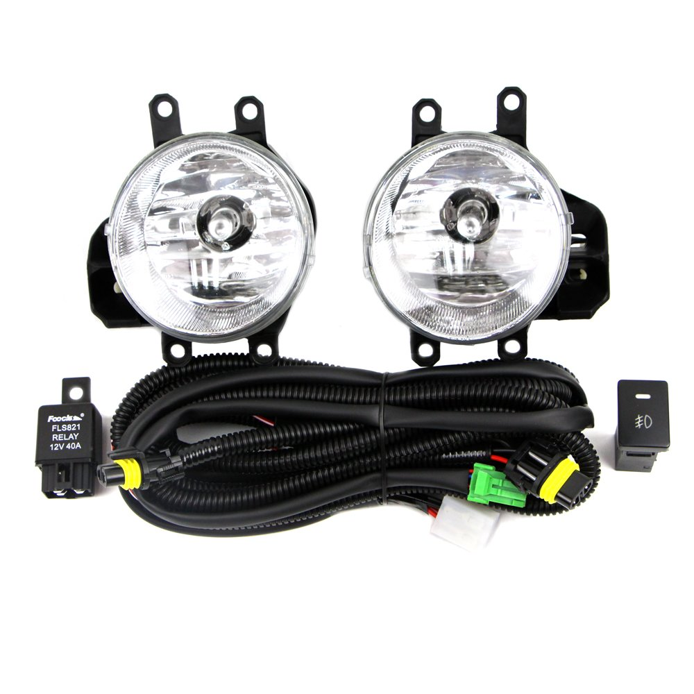small resolution of fog lamp kit for toyota 2016 rav4 tundra tacoma with relay wiring harness light switch in car light assembly from automobiles motorcycles on