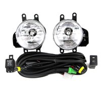 Fog Lamp Kit for Toyota 2016 RAV4 Tundra Tacoma With Relay Wiring Harness Light Switch