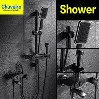 shower system save Bath Head Adjustable Pressure Stone Stream Handheld Shower Head With Negative Ion Activated Ceramic Balls