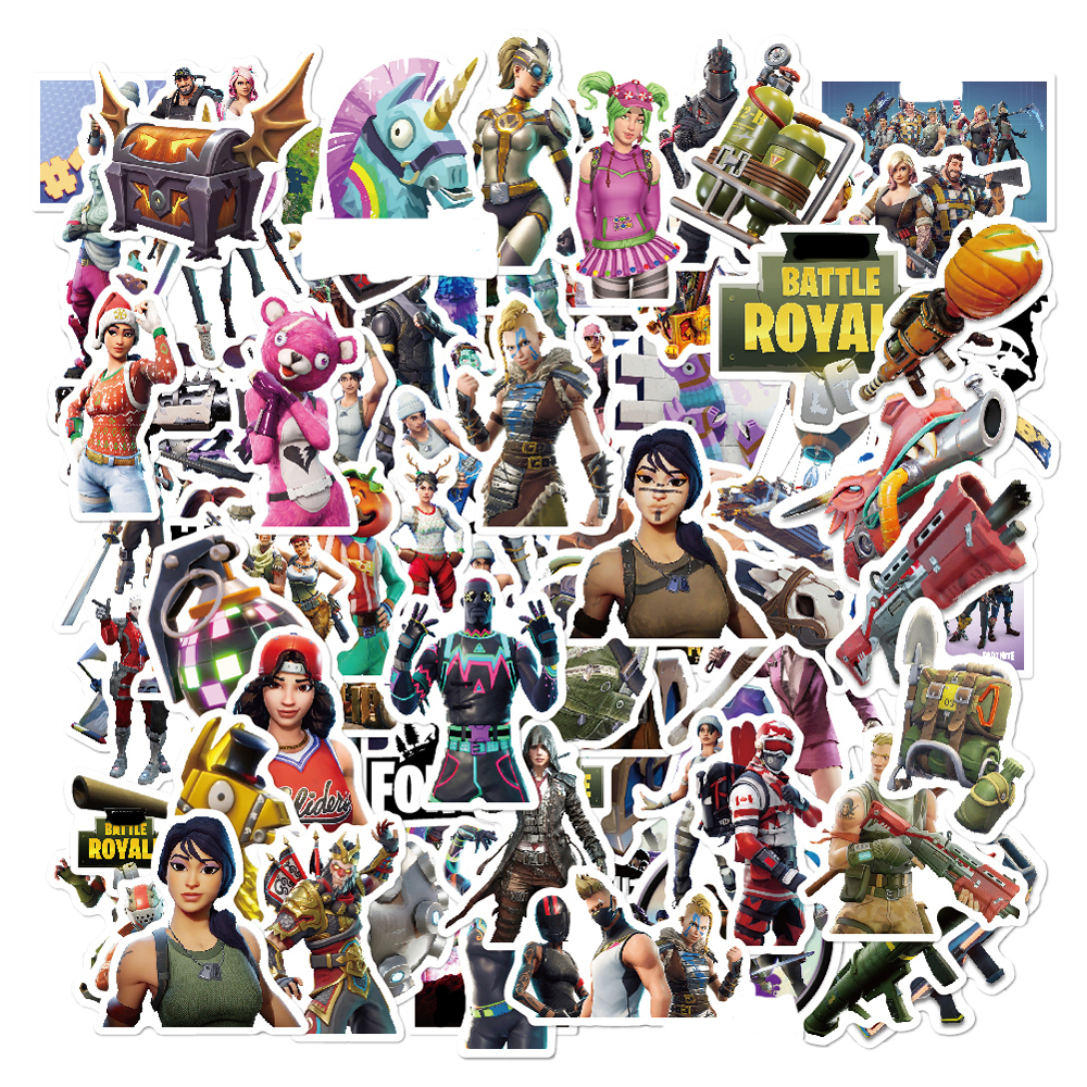 Kocozo Stickers 52 Pcs Fight Game Stickers for Luggage Laptop Decal Toys Bike Car Motorcycle Phone Funny Doodle Cool DIY Sticker skyway s01804006 page 6