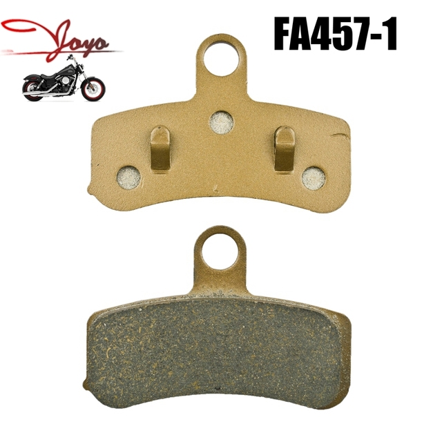 Motorcycle Disc Brake Pads For Harley Dyna Super Glide/Custom Low Rider/Street Bob/Wide Glide/Fat Bob 2008-2015 Front FA457-1