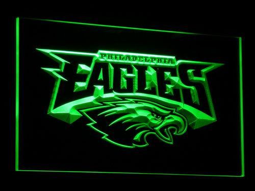 b054 Philadelphia Eagles Football LED Neon Sign with On/Off Switch 20+ Colors 5 Sizes to choose