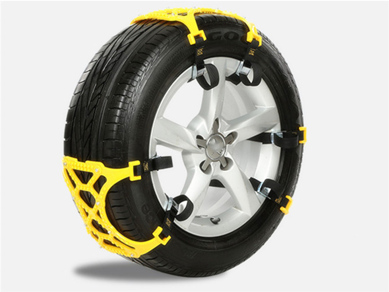 6Pcs/Set Universal Car Tyre Winter Roadway Safety Tire Snow Chains Climbing Mud Ground Anti Slip for Snow Mud Road
