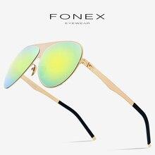 Aviation Polarized Sunglasses Men 2019 New High Quality Brand Designer Oversize Coating Sun Glasses for Men with Nylon Lens 856