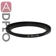 55-62mm Step-Up Metal Adapter Ring / 55mm Lens to 62mm Accessory