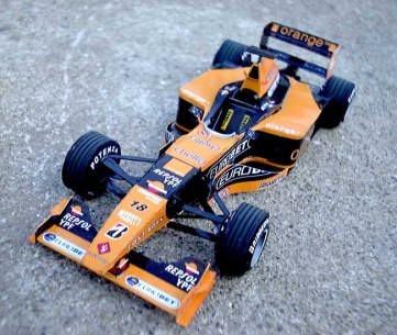 F1 Racing Arrow ARROWS3D Automotive Paper Model DIY Puzzle Parent-child Manual Car Model Paper Model