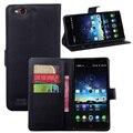 Caso de telefone ZTE núbia Z7 max, pp capa fundas carteira de couro para tampa flip com titular & stand sacos
