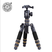 QZSD Q166A Aluminum Table Tripod Protable Mini Tripod Flexible Camera Tripod Use With Head And Monopdod